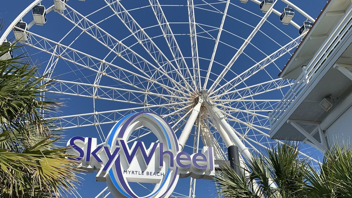 The Myrtle Beach SkyWheel is set to stay closed until Feb. 4 for winter maintenance.
