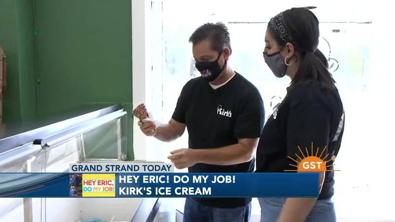 Hey Eric, Do My Job: Kirk's Ice Cream