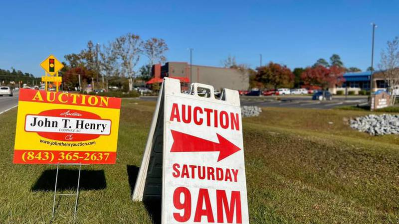 Horry County police will host their annual auction for unclaimed and abandoned items this...