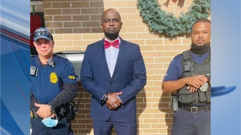 Thomas McFadden is Timmonsville's new police chief.