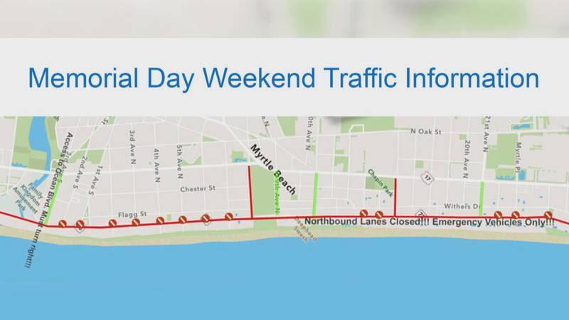 City of Myrtle Beach Traffic Plans