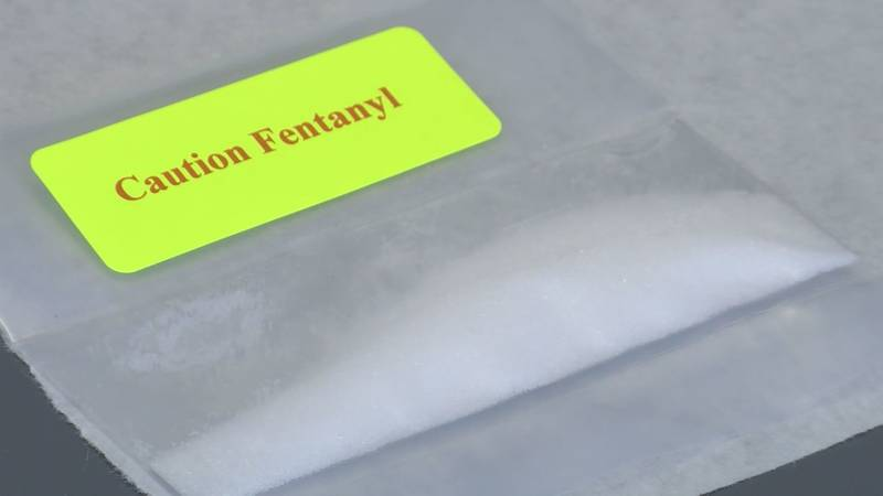 The deadly drug fentanyl is showing up more and more in Southern Arizona.  (Source:  KOLD News...