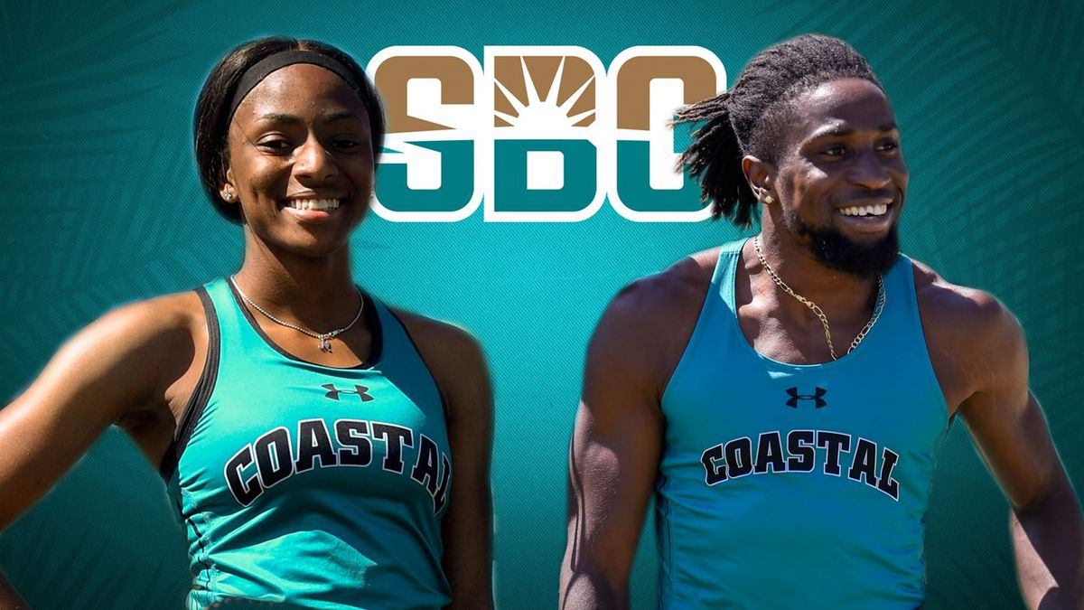 CCU's Melissa Jefferson and David Ejumeta were named the Sun Belt's outstanding track and field...
