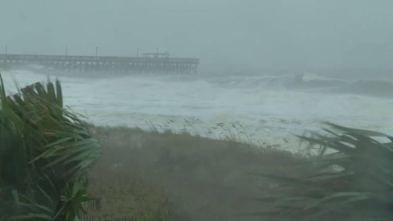 Hurricane Matthew left a major impact on the Grand Strand.