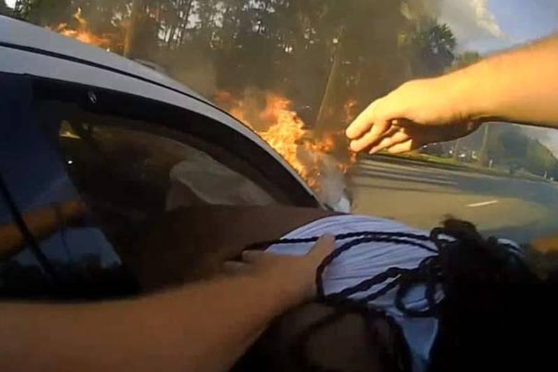 North Charleston Police Pfc. Adrian Besancon, Off-duty Charleston Police school resource...