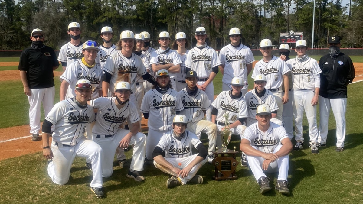 The Braves defeated North Myrtle Beach in the tournament final on Sunday.