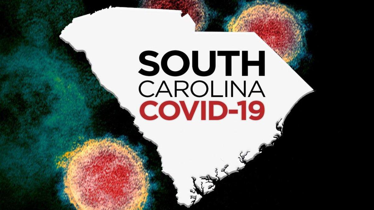 Coronavirus cases in South Carolina