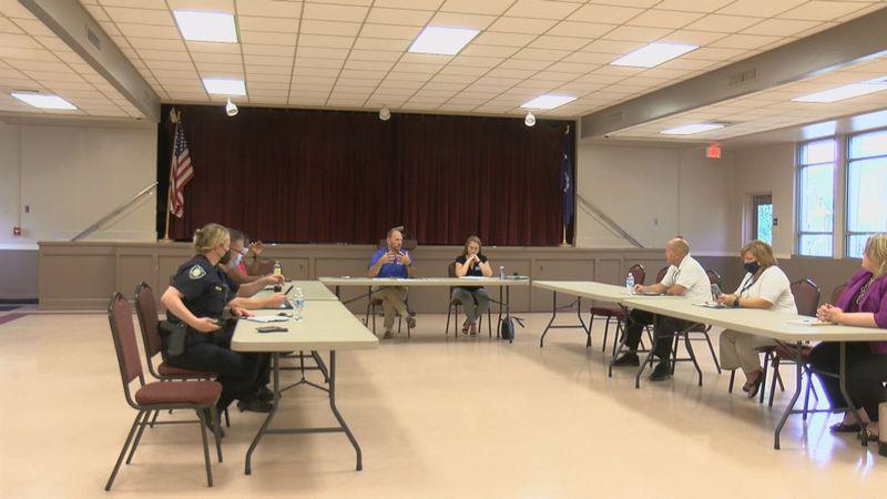 Myrtle Beach department heads meet at the General Robert H. Reed Recreation Center to discuss...
