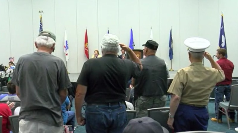 Over 100 people attended the Memorial Day Remembrance Ceremony in Myrtle Beach.