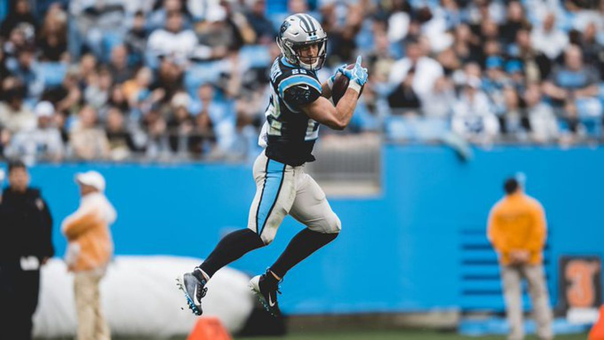 Christian McCaffrey joins the 1k/1k club in a lopsided 42-10 loss to the New Orleans Saints.
