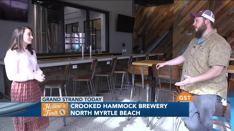 Helline's Finds - Crooked Hammock Brewery