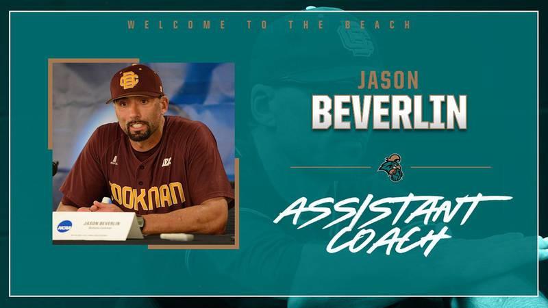 Jason Beverlin hired as Coastal baseball's pitching coach