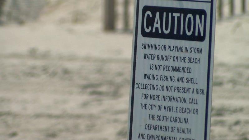 DHEC said swim advisories do not mean beaches are closed.