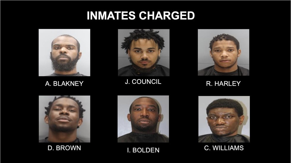 Twelve charged in Sept. 3 Alvin S. Glenn Detention Center riot