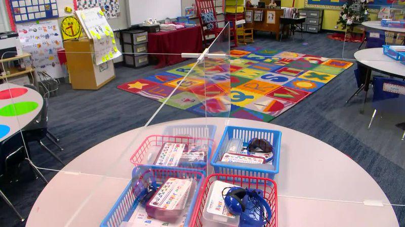 Horry County Schools complete first plexiglass installation inside Elementary School