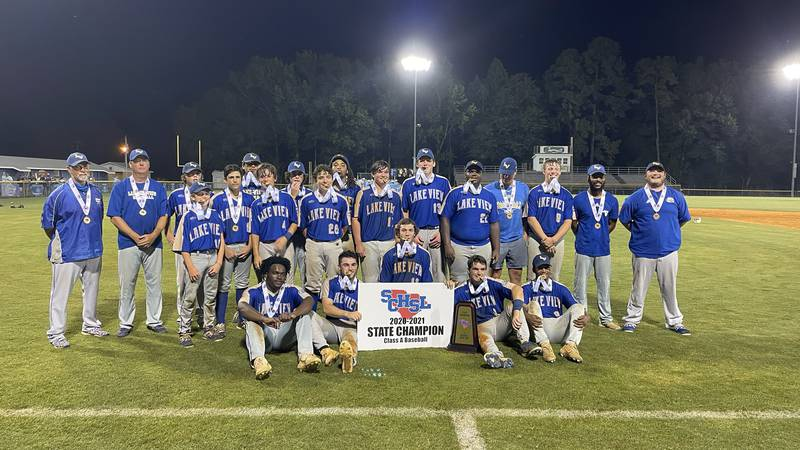 It's Lake View's first baseball state title since 2006.