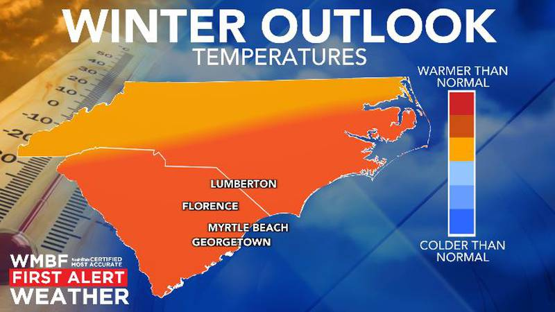Warmer than normal temperatures are likely.