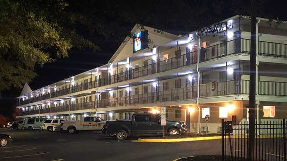 Authorities responded to a Greenville Motel 6 after a man was found shot to death.