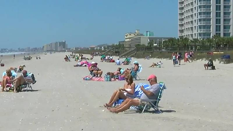 North Myrtle Beach reopened its public beach accesses Tuesday afternoon.