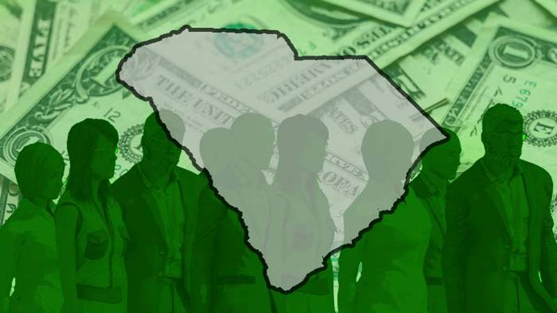 South Carolina employment officials say they received the lowest weekly total of first-time...
