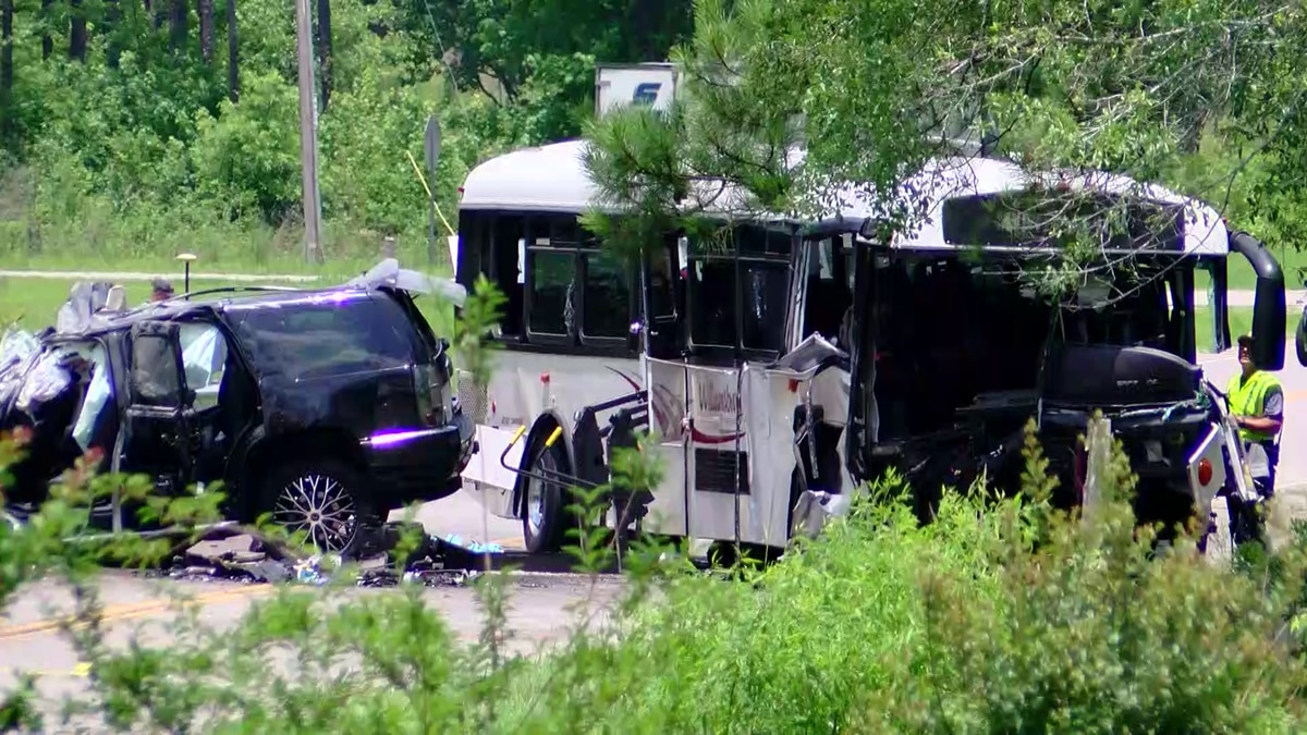 Three people were killed in a crash involving a transit bus and an SUV in Georgetown County on...