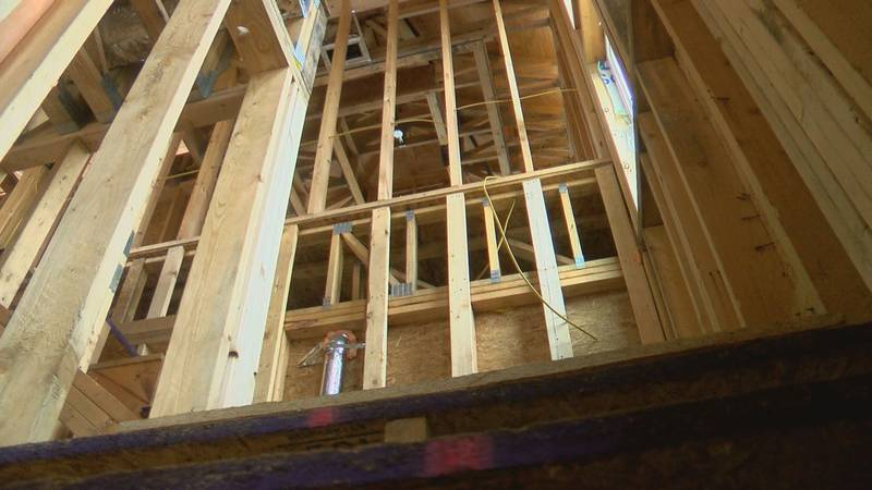 Lumber prices are skyrocketing adding thousands of dollars to the price of building a new home.