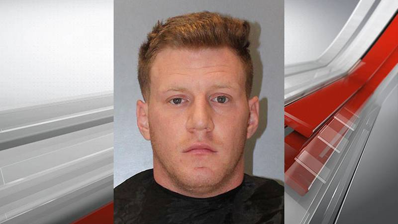 Staff Sgt. Kyle Jacob West was arrested and charged with criminal sexual conduct, third degree