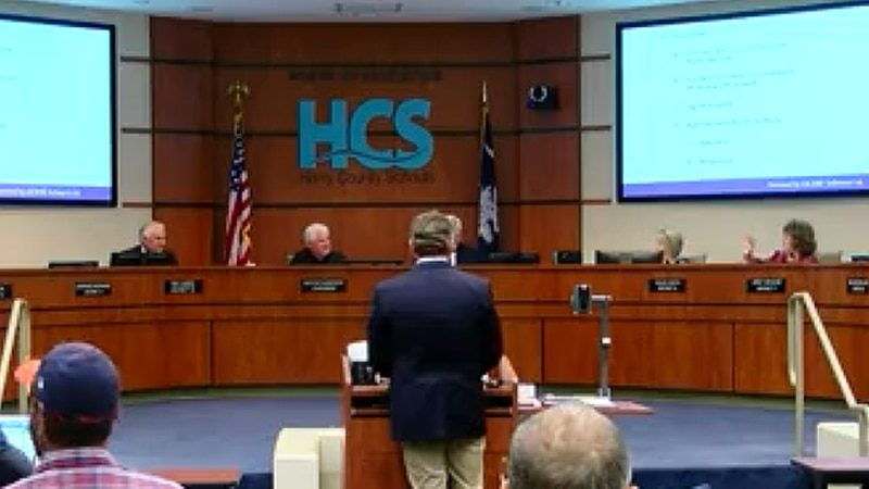 South Carolina state Sen. Greg Hembree addressed the issue of the mask proviso to the Horry...