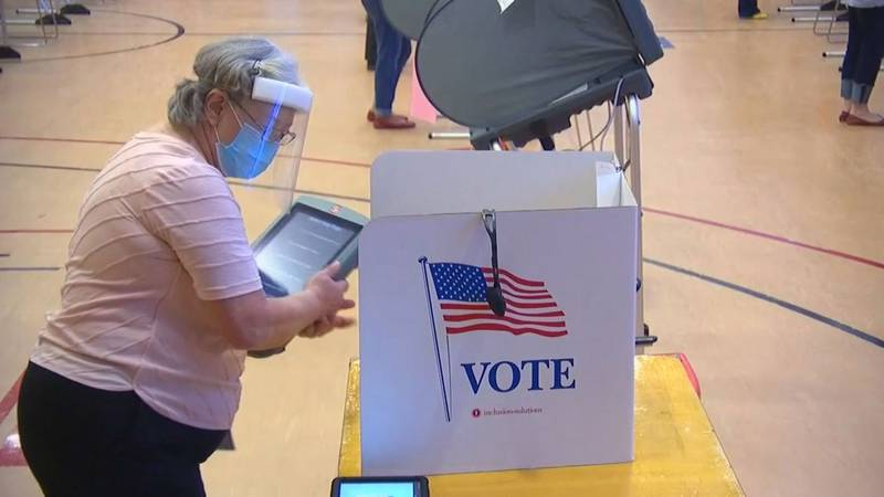 The South Carolina Election Commission handbook says that poll watchers are certified by the...