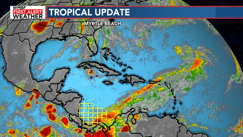 There is a small 20% chance of development over the next five days.