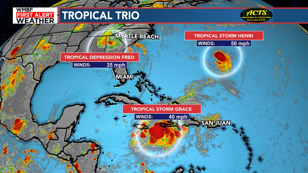 Three systems continue