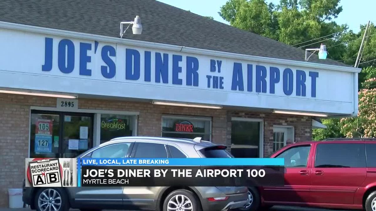 Joe's Diner by the Airport got a perfect score on this week's scorecard. (Source: WMBF News)
