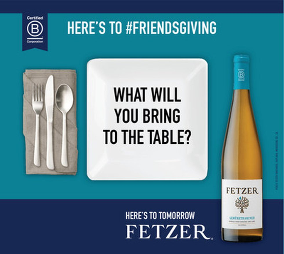 Fetzer®, the iconic California vintner, has announced its biggest-ever Thanksgiving campaign:...