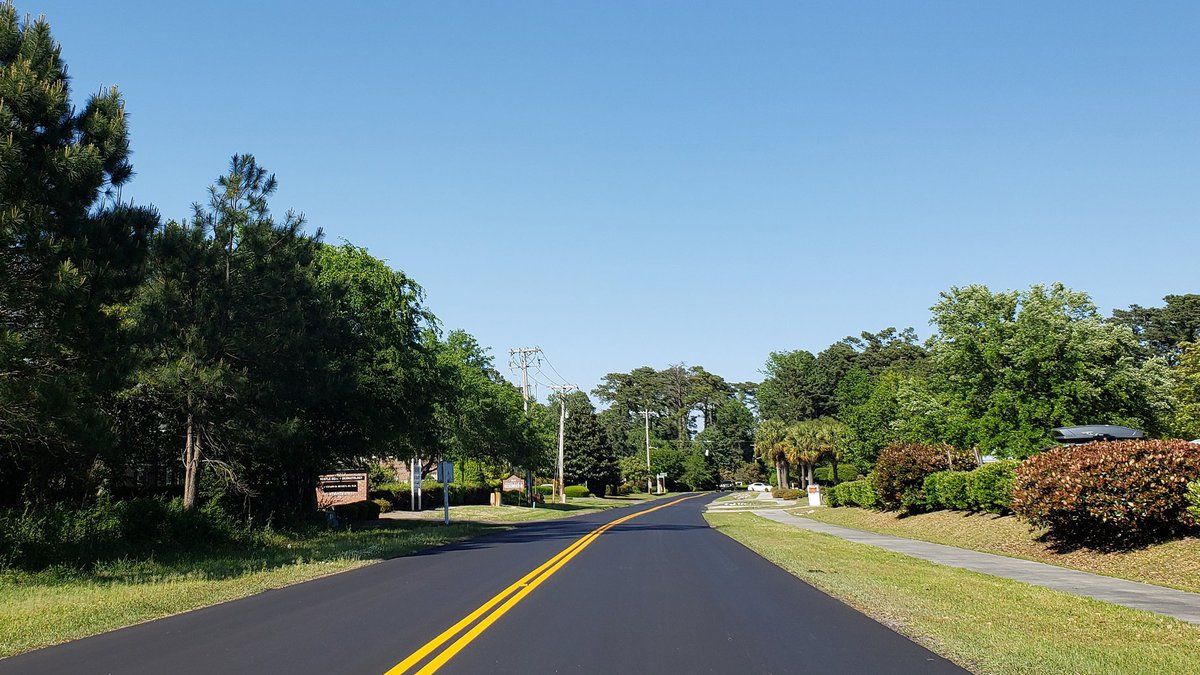 Motorists will soon enjoy a smoother drive as new asphalt is being laid on several Myrtle Beach...