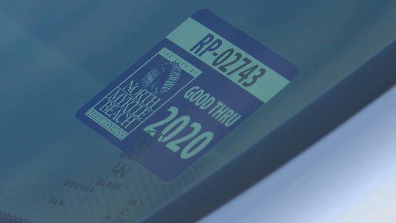 The City of North Myrtle Beach is considering imposing fines for improperly placed parking...