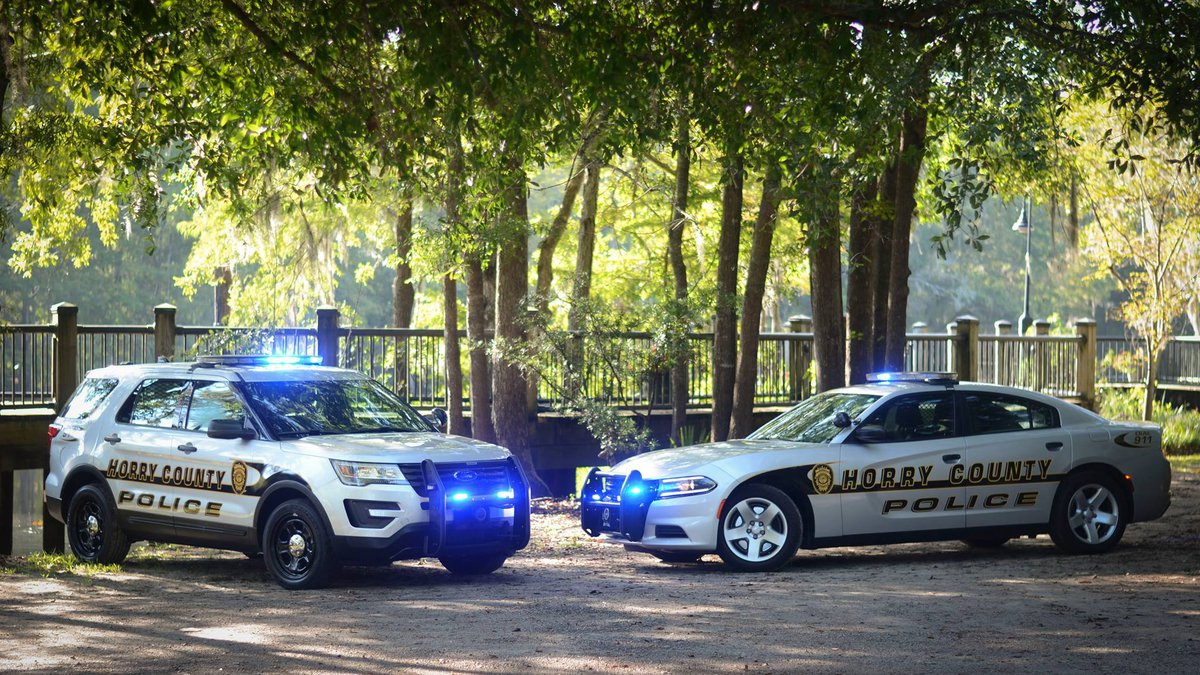 Horry County Police Department vehicles
