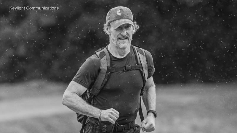Richard Sexton plans to run 750 miles.