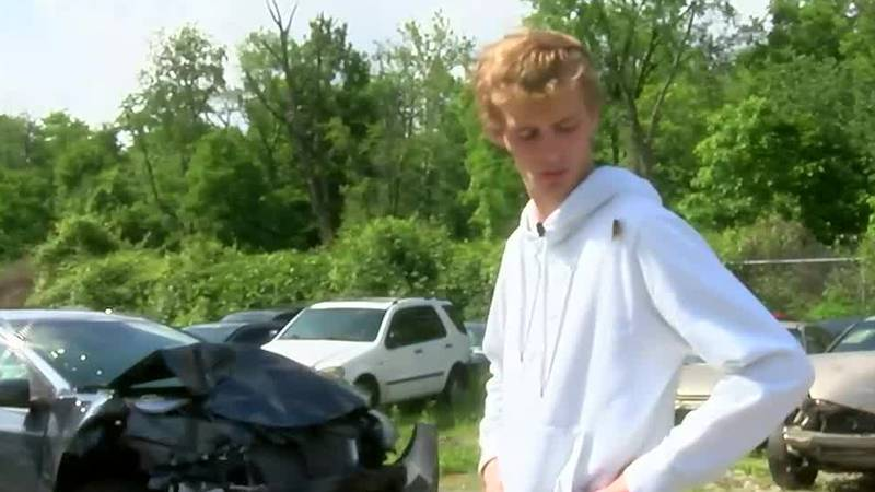 Ohio driver who crashed after cicada attack: 'I just want them to go away'