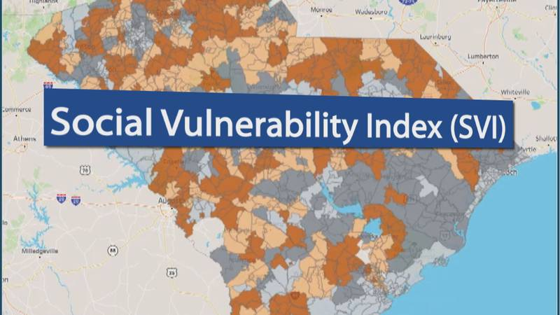 Social Vulnerability Index in relation to health in communities