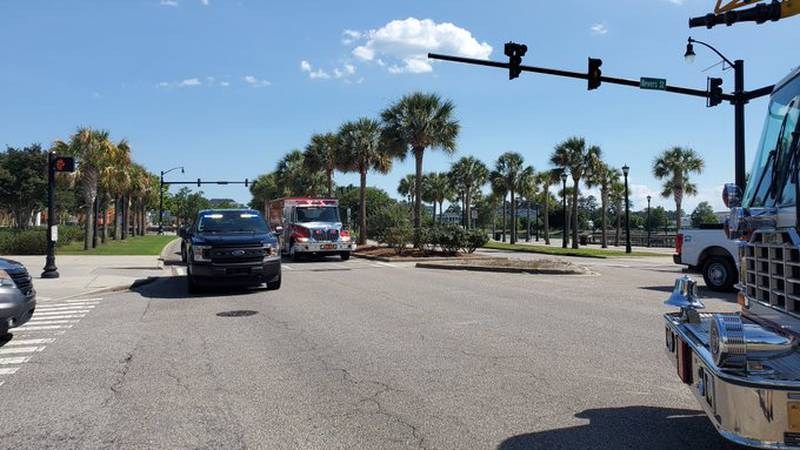 Authorities responded to a crash Thursday afternoon on Farrow Parkway.