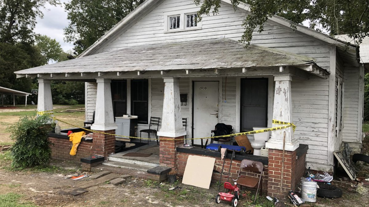 Officials say the homicide happened at 2030 Russell Street. When they arrived at the home, they...