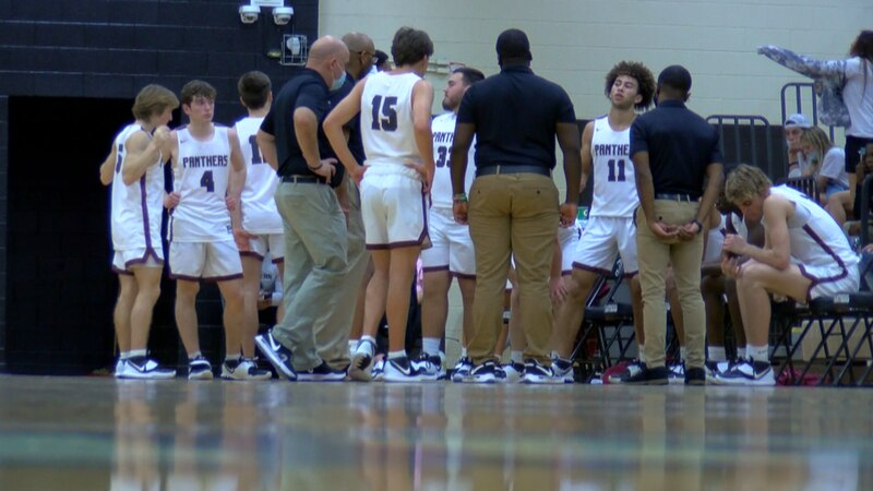 The Carolina Forest boys fell to River Bluff, 71-53
