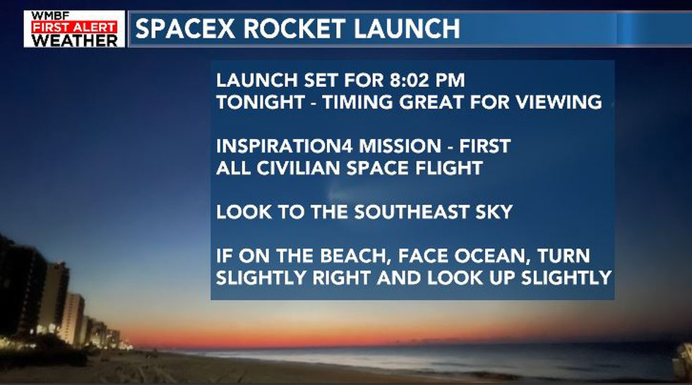 How to view the launch.
