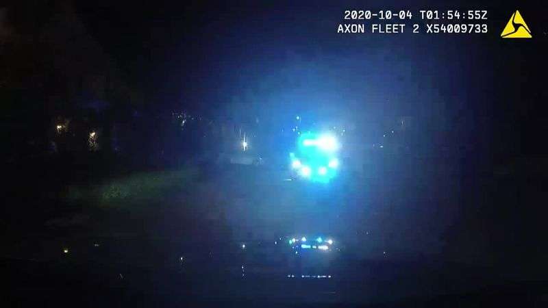 The Myrtle Beach Police Department released dashcam footage from the Oct. 3, 2020 shooting that...