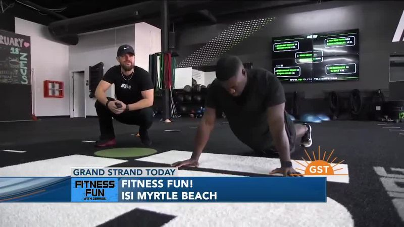Fitness Fun with Derrion: ISI Myrtle Beach