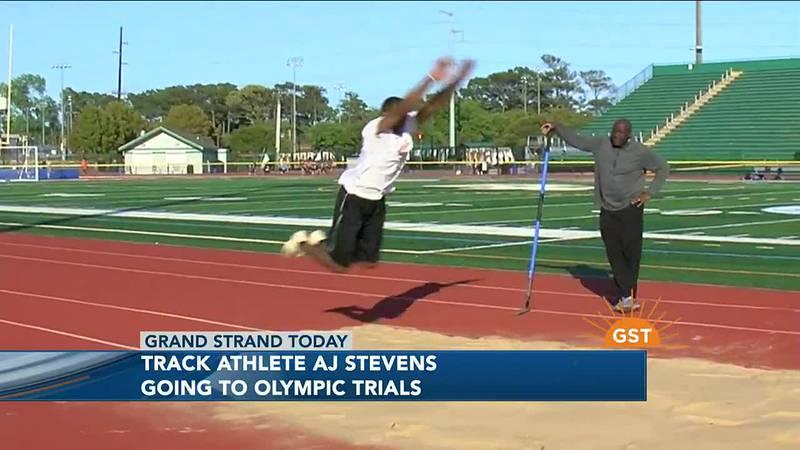 AJ Stevens Olympic Trials