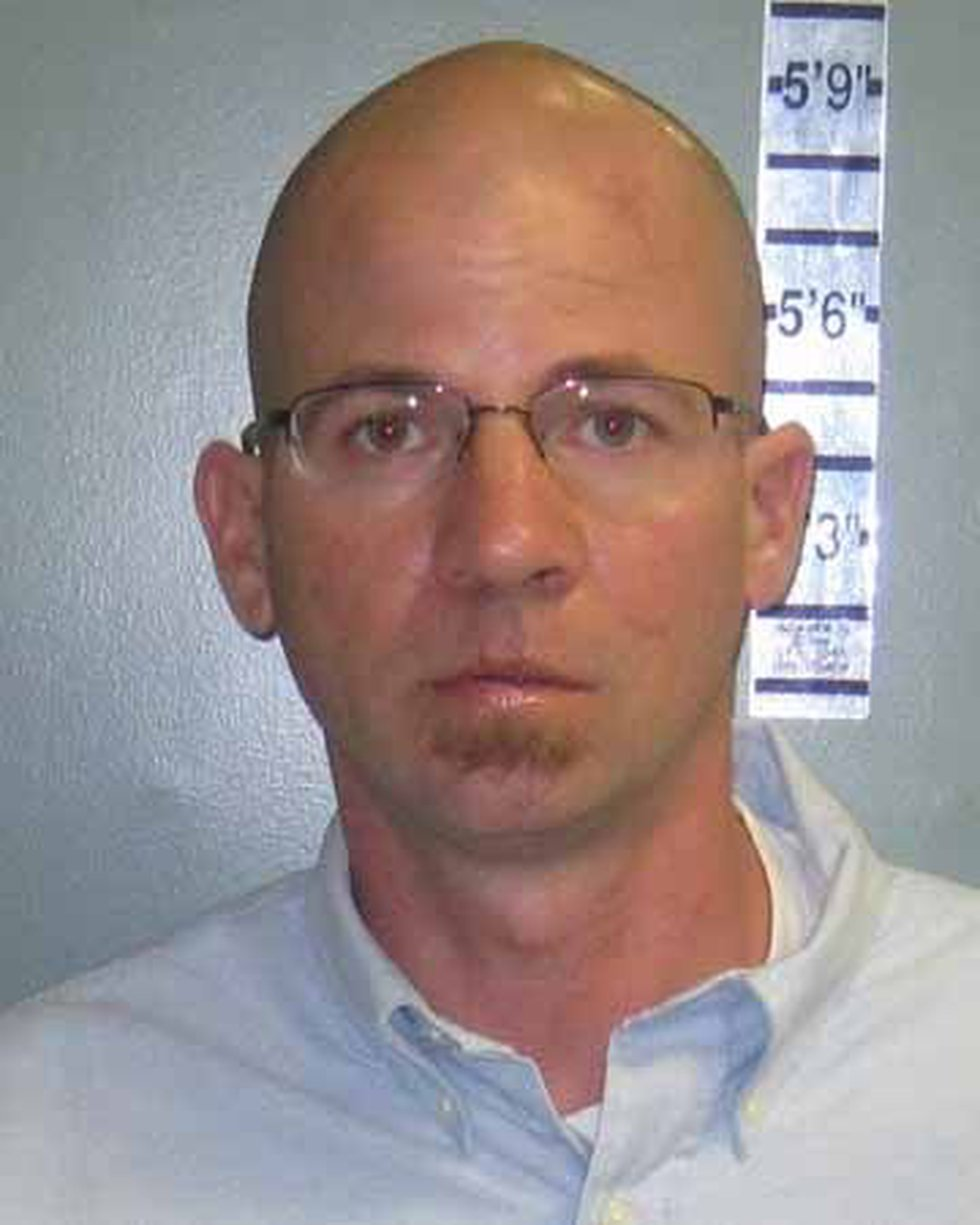 Jonathan Phillips turned himself in Tuesday morning (Source: Surfside Beach PD)