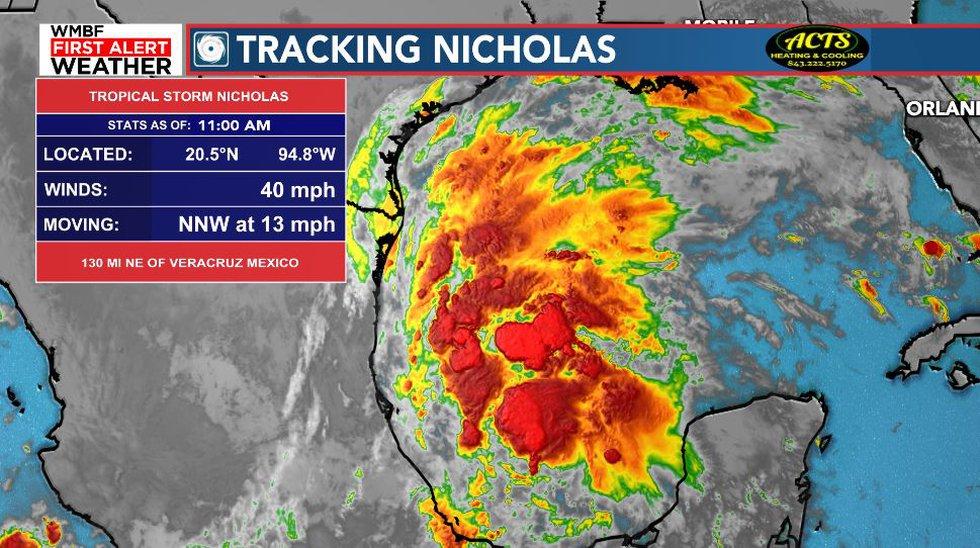 Tracking Nicholas