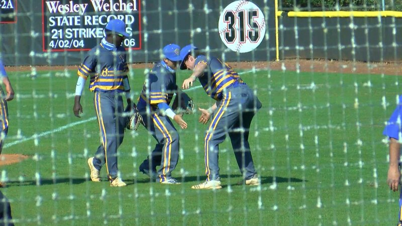 North Myrtle Beach defeated Aynor, 9-3 on day two of the Coastal Invitational at Waccamaw High...