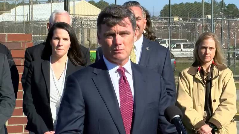 GF Default - WATCH: US Attorney, military investigation services hold press conference at SC DOC